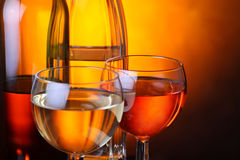 Wine time Royalty Free Stock Image