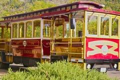Wine trolley Sonoma California Stock Photo