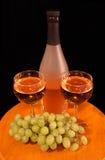 wine två arkivbilder