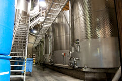 Wine Vats Stock Images