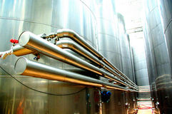 Wine vats Royalty Free Stock Image