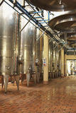 Wine Vats Inside The Winery Royalty Free Stock Photo