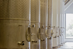 Wine vats Stock Photos
