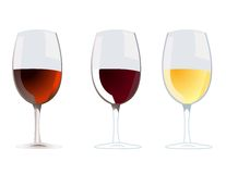 Wine vector Stock Photos