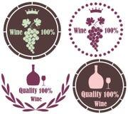 Wine. Vector illustration (EPS 10 vector illustration