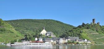 Wine Village,Beilstein,Mosel Valley,Germany Stock Photo
