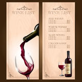Wine vintage frame classic Royalty Free Stock Photo