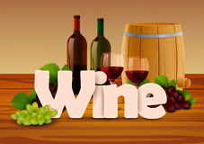 Wine wallpaper background Royalty Free Stock Images