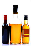 Wine and whisky royalty free stock photo