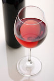 Wine. Wine bottle and wine glasses. Royalty Free Stock Photography