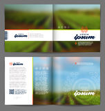 Wine and winemaking booklet Stock Image