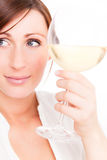 Wine woman Stock Photos
