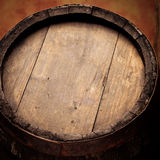 Wine wood barrel Royalty Free Stock Images