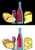 Wineandfood Stock Images