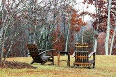 Winebarrel krzesła w fa; ; Zdjęcie Stock