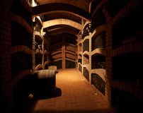 Winecellar Stock Image