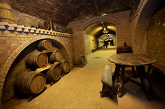 Winecellar image stock