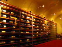 Winecellar Royalty Free Stock Image