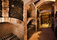 Winecellar images stock