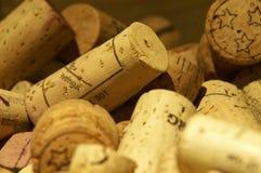Winecorks Stock Image