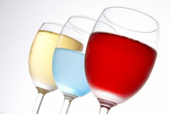 3 winecup Royalty Free Stock Photos