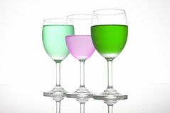 3 winecup Stock Image