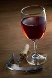 Wineexponeringsglas Royaltyfri Fotografi