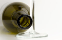Wineflaska Fotografering för Bildbyråer