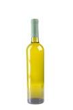 Wineflaska med vit wine arkivbilder