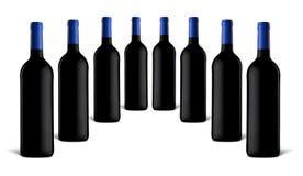 Wineflaskor Royaltyfri Foto