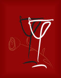 Wineglass Stock Photo