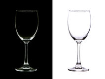 wineglass Royaltyfria Bilder