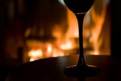 wineglass royaltyfri fotografi