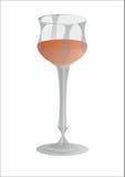 wineglass Arkivbild