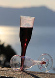 wineglass Fotografia Stock
