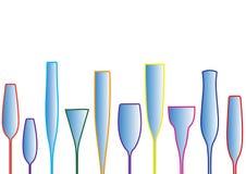 Wineglass background Stock Image