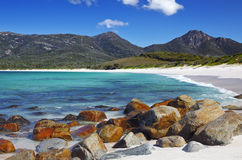 Wineglass bay. A photography of Wineglass Bay in Tasmania Royalty Free Stock Photos