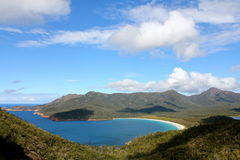 Wineglass bay. Beautiful wineglass bay in tasmania, australia Royalty Free Stock Photography