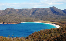 Wineglass Bay. Freycinet National Park, Tasmania, Australia Royalty Free Stock Photography