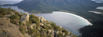 Wineglass bay freycinet tasmania Royalty Free Stock Photography