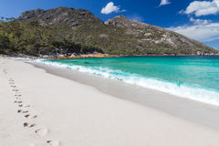 Wineglass bay. A photography of Wineglass Bay in Tasmania royalty free stock image
