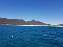 Wineglass Bay Tasmania Australia outback royalty free stock photos