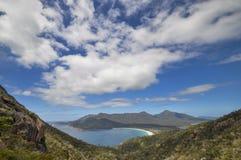 Wineglass bay, Tasmania. Wineglass Bay, Coles Bay in Freycinet National Park, Tasmania Stock Photo