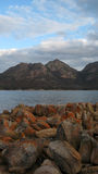 Wineglass Bay Tasmania portrait view Stock Photos