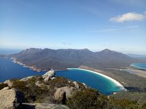 Wineglass Bay stock images