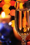 Wineglass with a champagne Royalty Free Stock Images