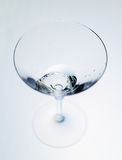 Wineglass glass water Royalty Free Stock Images