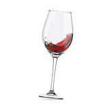 Wineglass moved Royalty Free Stock Image