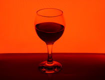 Wineglass with red wine Royalty Free Stock Photography