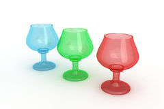 Wineglass set Royalty Free Stock Photo